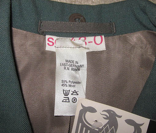 Details about east german vopo uniform jacket tunic pants s 48 o