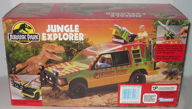 super toy archive collectible store kenner jurassic park toys for sale. Black Bedroom Furniture Sets. Home Design Ideas