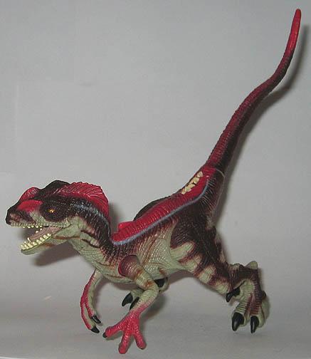 Jurassic Park 3 Velociraptor Toy Super Toy Archi...